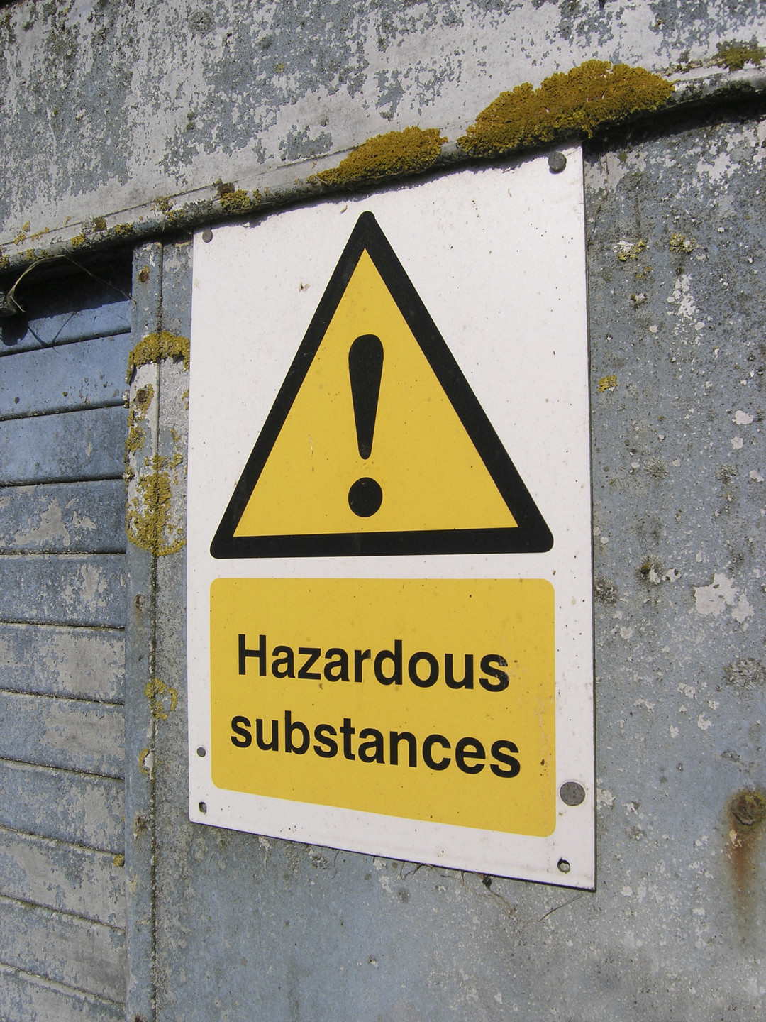 Hazardous substance screening